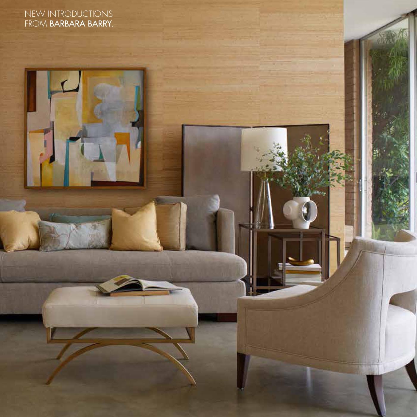 Barbara barry living room for Room design barry